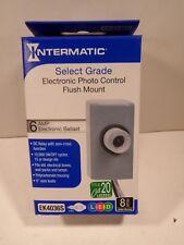 Intermatic EK4036S LED Photo Control Flush Mount HID FREE SHIPPING 120-277V
