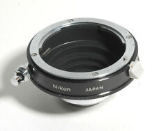Genuine  NIKON F-C MOUNT LENS ADAPTER to Mount Nikon Lens on 16mm Movie Cameras