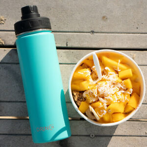 DRINCO Insulated Stainless Steel Sport Water Bottle Wide Mouth 20oz 32oz