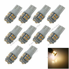 10X Car Warm White 20 LED 1206 SMD T10 W5W Wedge Side Light Bulb Lamp A044