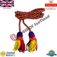 British Army Bugle Wool Cord Yellow,Red,Navy Blue/Bb Bugle Cord/Cadet Bugle Cord