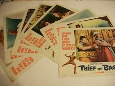 Thief of Bagdad   original lobby card set  1961