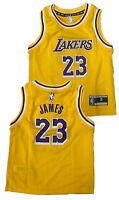 Boys Lebron James Los Angeles Lakers Replica Basketball Jersey