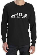 Long Sleeve Graphic Tee Cycling T-Shirts for Men