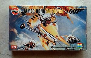 FLY with 007 BOND in His Famous AUTOGYRO - 1:24 kit - still factory sealed