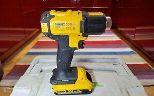 Dewalt DCE530 XR 18V Cordless Heat Gun With One 2.0Ah Battery