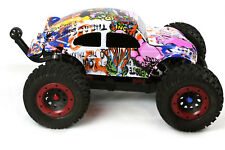 Custom Buggy Body Graffiti Pig for 1/8 RC Truck Thunder Tiger MT4 G3 HPI Savage