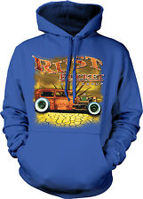 Rust Bucket Auto Group Hot Rod Car Garage Old Classic Vintage Hoodie Sweatshirt