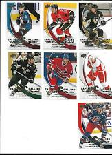 2008-09 Upper Deck Captains Calling CROSBY/SAKIC/IGINLA/NASH/KOIVU