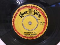 "The Lovin' Spoonful ‎– Summer In The City - 7"" Vinyl Single - 1966 - REF.7352"