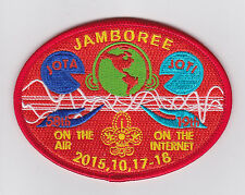 2015 SCOUTS OF CHINA (TAIWAN) - Jamboree On the Air & Internet JOTA JOTI Patch D