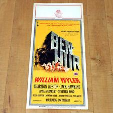BEN HUR locandina poster Charlton Heston Jack Hawkins Stephen Boyd Wyler E62