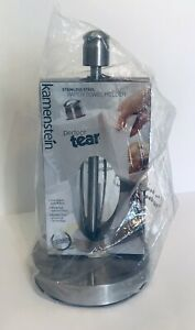 Kamenstein Perfect Tear Paper Towel Holder Silver Stainless Steel - NEW