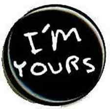 JASON MRAZ 1-inch BADGE Button Pin I'm Yours Logo NEW OFFICIAL MERCHANDISE
