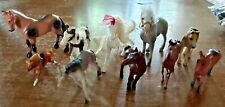 LOT OF 10 ASSORTED HORSES-3 ARE SCHLEICH GERMANY HORSES