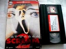 SCREAM 2 _ WES CRAVEN_  VHS EX NOLO_ FILM HORROR 1997