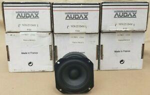"New 3"" inch Speaker Full Range Audax High Fidelity 4 ohms hifi French"