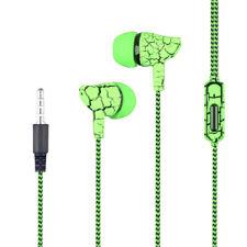 Auriculares Intrauditivos Estéreo con Cable Micrófono Móvil Grietas Deportivos