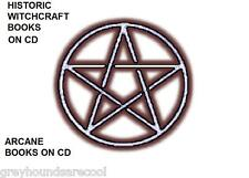 Collection of Vintage Arcane Books on CD Witchcraft Wicca Pagan Demonology Magic
