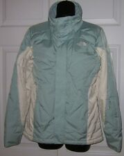 The North Face 600 Wms Mint Green /White Goose Down Ski Jacket w/ Recco Small