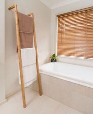 Bamboo Ladder Towel Rack 35cm (W) x 20cm (D) x 180cm (H)