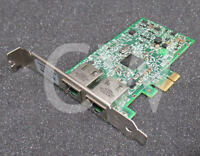 0FCGN 00FCGN DELL BROADCOM 5720 Dual Port Gigabit PCIe Network Interface Card