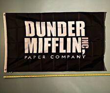 New listing Dunder Mifflin Flag Free Ship Usa Seller! The Office Michael Scott Sign New 3x5'