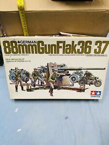 TAMIYA 88mm GUN FLAK 36/37  KIT DI MONTAGGIO NEW!!