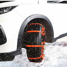 E346 Orange 1 Pc Winter Driving Snow Tire Belt Vehicles Tyre Universal Buckle