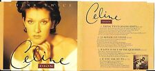 MAXI CD CELINE DION THINK TWICE 4T DE 1994 DONT LE MONDE EST STONE
