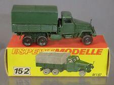 VINTAGE ESPEWE MODEL No.15-2   MANNSCHAFTWAGEN G5      MIB      MEGA RARE