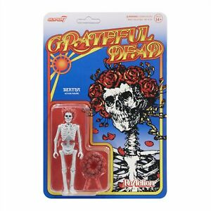 "SUPER7 The Grateful Dead Bertha ReAction Figure 3.75"" NEW"