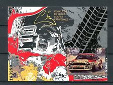 Spain 2016 MNH Vintage Cars Champion Cars Carlos Sainz Toyota 1v M/S Stamps