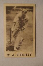 1940's Vintage G.J.Coles Cricket Card -  W.J.O'Reilly