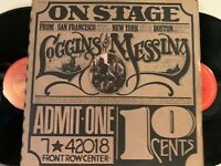 Loggins And Messina – On Stage LP 1974 Columbia – PG 32848 EX/EX