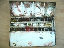 WINSOR AND NEWTON Boîte en métal pour aquarelle AVEC GODETS ET DEMI-GODETS N° 16
