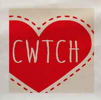Cwtch Welsh Cuddle Wales - Printed Fabric Panel Make A Cushion Upholstery Craft