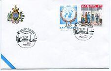1995-05-27 San Marino Napoli 10°convengo commerciale oltremare ANNULLO SPECIALE