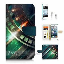 ( For iPod 6 / itouch 6 ) Flip Case Cover P3152 Cool Metal
