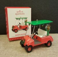 2015 Hallmark Ornament Season's Golfings Golf Cart