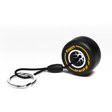 Pirelli Yellow Rim Replica Tyre Keyring Motorsport F1