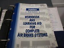 HALDEX Binder full of installation and service manuals