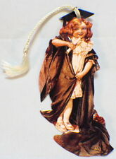 Victorian Paper Bookmark With String Tassel The Graduate Or Scholar