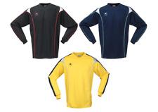 3 Uhlsport MYTHOS Pro Soccer Goalkeeper Jersey Set YELLOW BLACK NAVY $120 XL