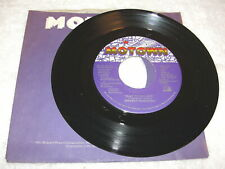 """Smokey Robinson """"Just To See Her / I'm Gonna Love You.."""" 45 RPM,7"""",1987,Nice NM!"""