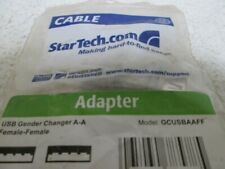 STAR TECH GCUSBAAFF USB A GENDER CHANGER * NEW IN A BAG *