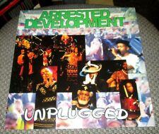 """Arrested Development Unplugged 12"""" X 12"""" 2 Sided Promotional Flat Promo Poster"""