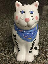 Coco Dowley Ceramic Cat Cookie Jar