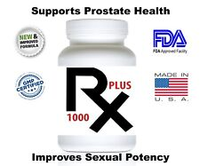 RX 1000 Plus Natural Sex Male Supplement 14 Capsules New and Improved.