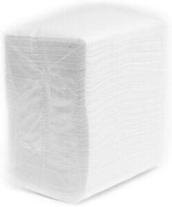 Low Fold Dispenser Napkins, 1-Ply,3 1/2 x 5 in, White 800/pk, Dispenser Refills